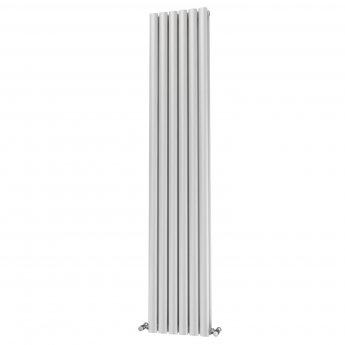 MaxHeat Saltash Double Designer Vertical Radiator 1800mm H x 348mm W White