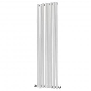MaxHeat Saltash Single Designer Vertical Radiator 1800mm H x 464mm W White