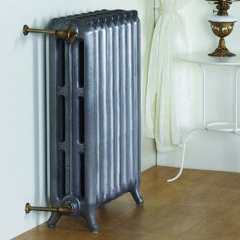 MaxHeat Tradition Cast Iron Radiator 750mm H x 388mm W 5 Sections Primer