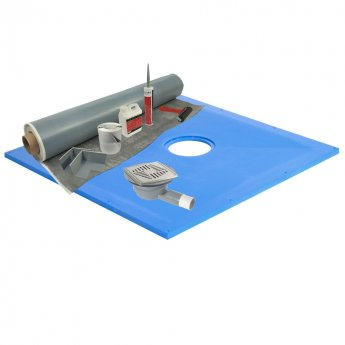 Maxxus Hydromat Wet Room Former Kit 1650mm x 900mm 10sqm Membrane