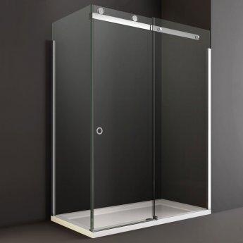 Merlyn 10 Series RH Sliding Shower Door 1700mm Wide - 10mm Glass