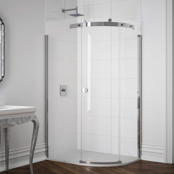 Merlyn 10 Series Single Offset Quadrant Shower Enclosure 1400mm x 800mm RH - 10mm Glass