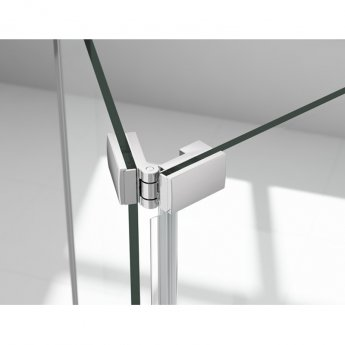 Merlyn 6 Series Bi-Fold Shower Door 760/800mm Wide - 6mm Glass