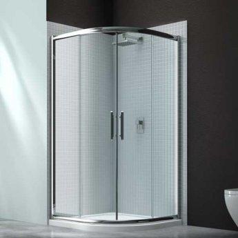 Merlyn 6 Series Quadrant Shower Enclosure 800mm Wide - Clear Glass