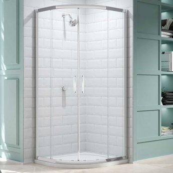 Merlyn 8 Series Quadrant Shower Enclosure 800mm x 800mm - Clear Glass