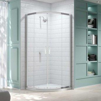 Merlyn 8 Series Quadrant Shower Enclosure 900mm x 900mm - Clear Glass