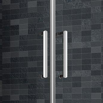 Merlyn Ionic Essence Framed Slider Shower Door 1000mm Wide - 8mm Glass