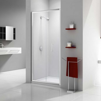 Merlyn Ionic Express Bi-Fold Shower Door, 760mm Wide, 6mm Glass