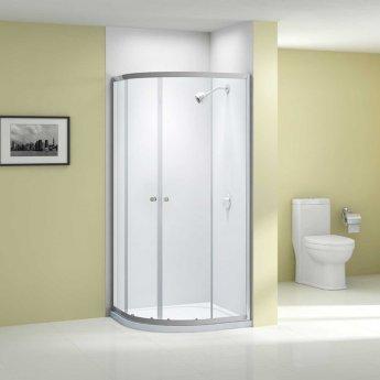 Merlyn Ionic Source Quadrant Shower Enclosure 900mm x 900mm - 6mm Glass