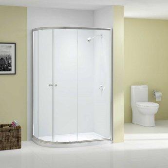 Merlyn Ionic Source Offset Quadrant Shower Enclosure 1200mm x 800mm - 6mm Glass