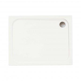 Merlyn Ionic Touchstone Rectangular Shower Tray, 1000mm x 700mm, White