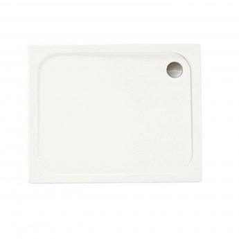 Merlyn Ionic Touchstone Rectangular Shower Tray, 900mm x 700mm, White