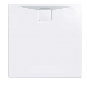 Merlyn Level25 Square Shower Tray with Waste 900mm x 900mm - White