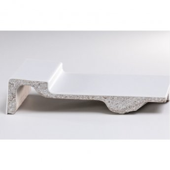Merlyn MStone Offset Quadrant Shower Tray with Waste 1200mm x 900mm Right Handed - Stone Resin