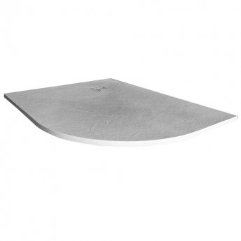 Merlyn TrueStone Offset Quadrant Shower Tray with Waste 1200mm x 900mm Right Handed - White