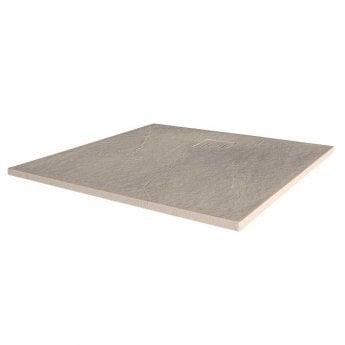 Merlyn TrueStone Square Shower Tray with Waste 900mm x 900mm - Sandstone