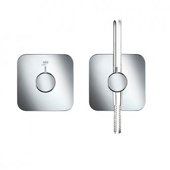 Mira Adept Plus Dual Concealed Mixer Shower with Shower Kit + Fixed Head