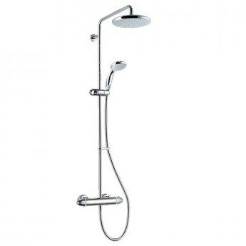 Mira Coda Pro Bar Mixer Shower with Shower Kit + Fixed Head