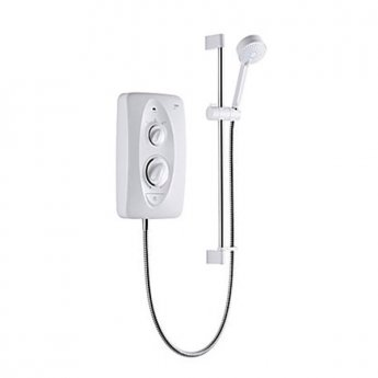 Mira Jump 8.5kw Multi-Fit Electric Shower White