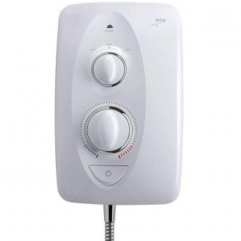 Mira Jump 9.5kW Electric Shower - White/Chrome