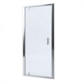 Mira Leap Pivot Shower Door, 900mm Wide, 6mm Glass