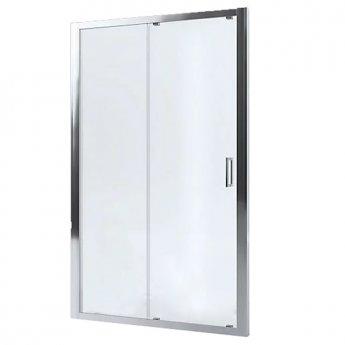 Mira Leap Sliding Shower Door, 1400mm Wide, 6mm Glass