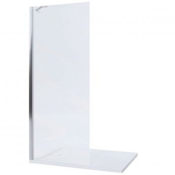 Mira Leap Walk-in Shower Panel 900mm Wide - 8mm Glass