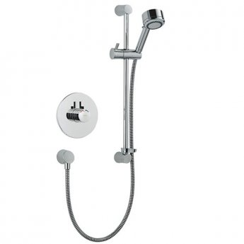 Mira Miniduo Dual Concealed Mixer Shower with Shower Kit