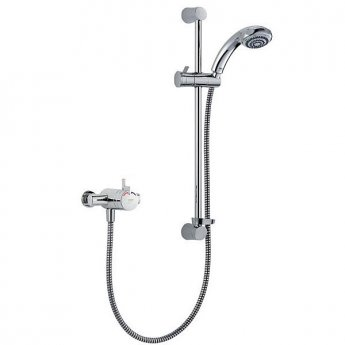 Mira Miniduo Eco Dual Exposed Mixer Shower with Shower Kit