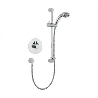 Mira Miniduo Eco Dual Concealed Mixer Shower with Shower Kit