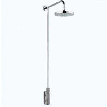 Mira Miniluxe Vertical Bar Mixer Shower with Fixed Head