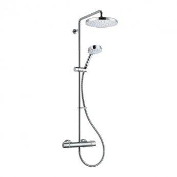 Mira Miniluxe Vertical Bar Mixer Shower with Shower Kit + Fixed Head