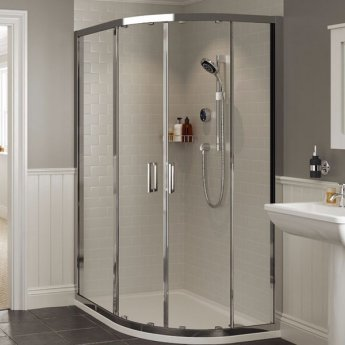Mira Platinum Concealed Thermostatic Digital Shower Mixer with Rear Fed Pumped - Black/Chrome