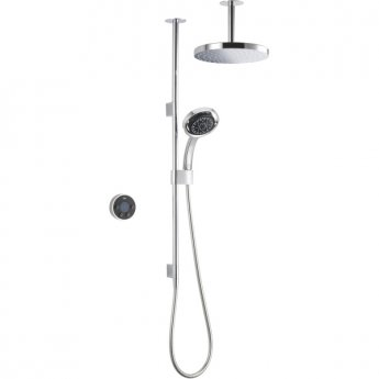 Mira Platinum Dual Thermostatic Digital Mixer Shower Concealed - Pumped