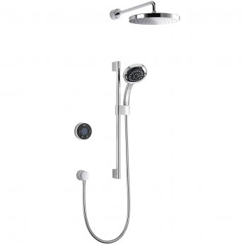 Mira Platinum Digital Concealed Mixer Shower + Fixed Head
