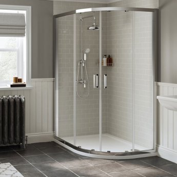 Mira Realm Dual Exposed Mixer Shower with Shower Kit + Fixed Head