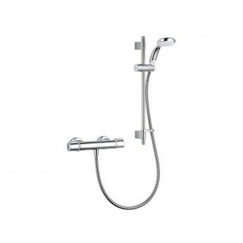 Mira Relate Ev Bar Mixer Shower with Shower Kit - Chrome