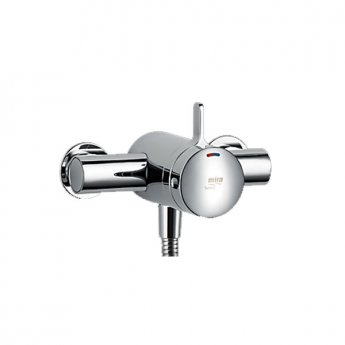 Mira Select Dual Exposed Mixer Shower with Shower Kit