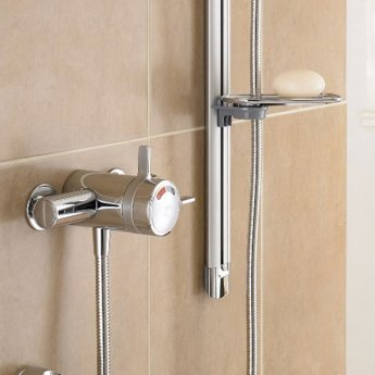 Mira Select Flex Dual Exposed Mixer Shower with Shower Kit