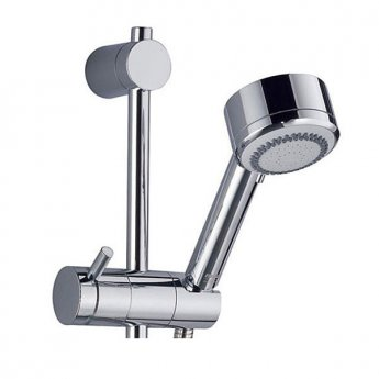 Mira Silver Sequential Exposed Mixer Shower with Shower Kit - Chrome