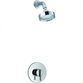 Mira Silver Sequential Concealed Mixer Shower with Fixed Head