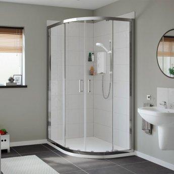 Mira Sport 10.8kw Electric Shower - White/Chrome