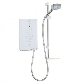 Mira Sport Max 10.8kw Electric Shower with Airboost - White/Chrome