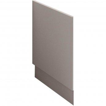 Nuie Athena Bath End Panel 560mm H x 700mm W - Stone Grey