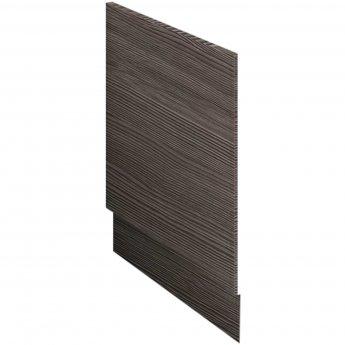 Nuie Athena Bath End Panel 560mm H x 750mm W - Brown Grey Avola