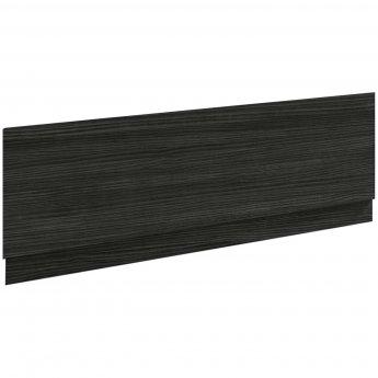 Nuie Athena Bath Front Panel 560mm H x 1700mm W - Hacienda Black
