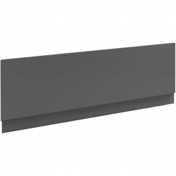 Nuie Athena Bath Front Panel 560mm H x 1800mm W - Gloss Grey