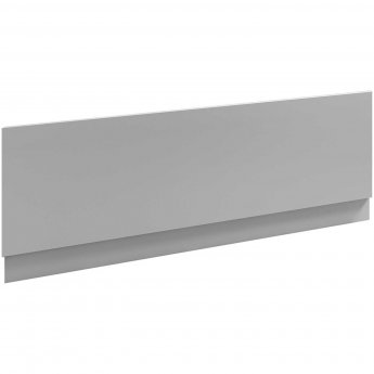 Nuie Athena Bath Front Panel 580mm H x 1800mm W - Gloss Grey Mist