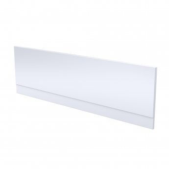 Nuie Standard Acrylic Bath Front Panel 510mm H x 1700mm W - Gloss White