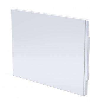 Nuie Standard Acrylic Bath End Panel 510mm H x 694mm W - Gloss White
